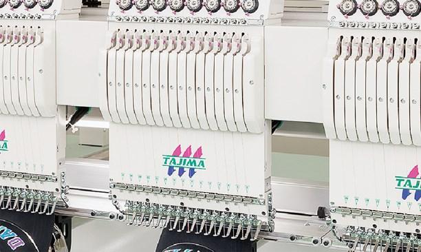 图片 TMAR-KC系列成品绣花机(原装进口)