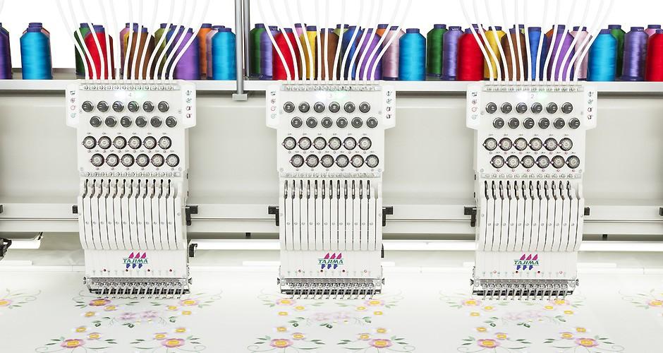 图片 TMCP-VF系列多头平绣机