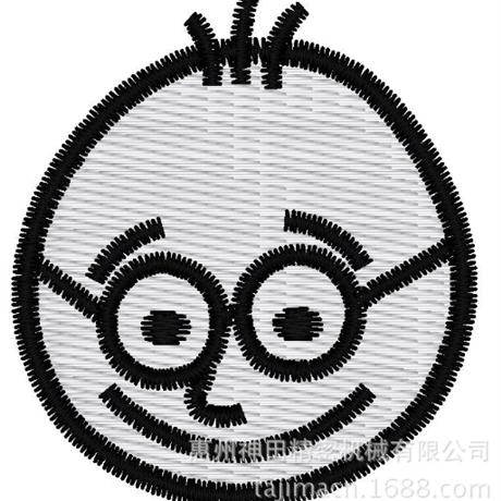 图片 【土豆君】低头浅笑 花样-田岛刺绣版带DST【使用权】