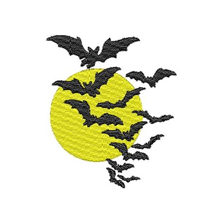 图片 蝙蝠版带花样-刺绣设计-DST