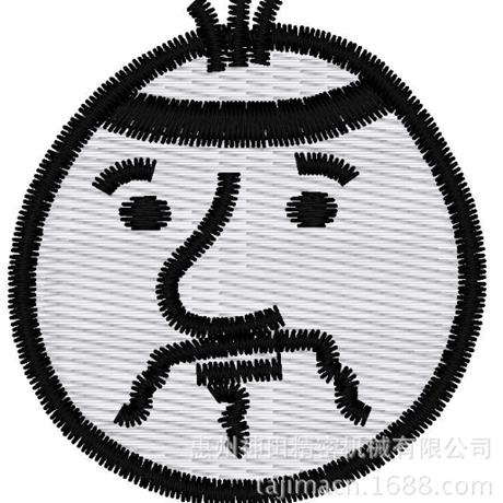 图片 【土豆君】大叔~ 花样-田岛刺绣版带DST【使用权】
