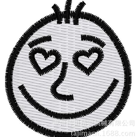 图片 【土豆君】爱心  花样-田岛刺绣版带DST【使用权】