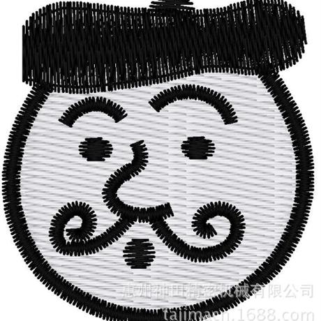 图片 【土豆君】阿凡提 花样-田岛刺绣版带DST【使用权】