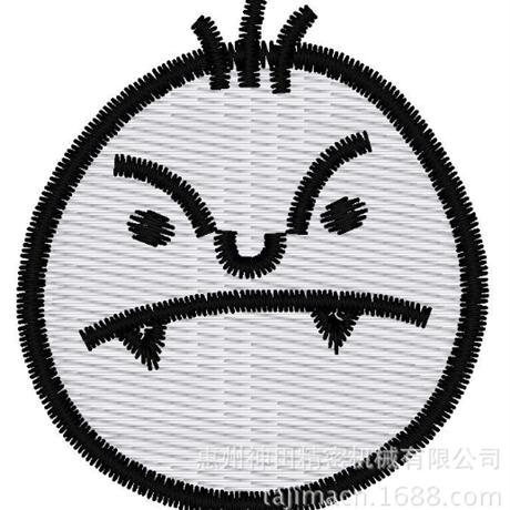 图片 【土豆君】奸诈笑 花样-田岛刺绣版带DST【使用权】