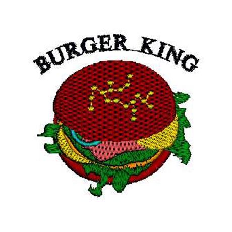 图片 Burger King 版带花样-刺绣设计-PES